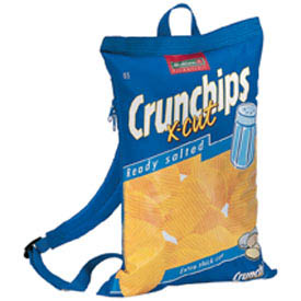 Tasche Crunchips blau